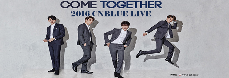 2016 COME TOGETHER CNBLUE LIVE IN NANJING