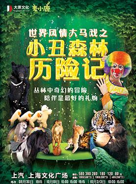 The Circus Clown Carnival 2016 In Shanghai