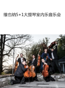 维也纳5+1大提琴室内乐音乐会—来自维也纳爱乐的音乐家系列