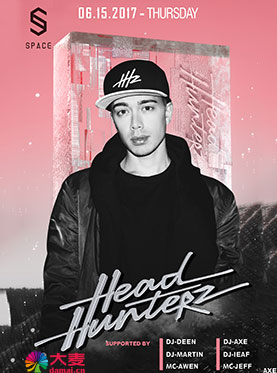 SPACE CLUB5.19百大DJ Headhunterz