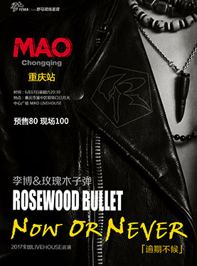 李博&玫瑰木子弹《逾期不候》巡演 重庆站