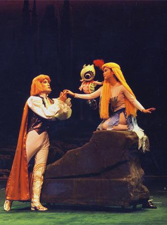 大型木偶音乐剧《美人鱼》(8月)