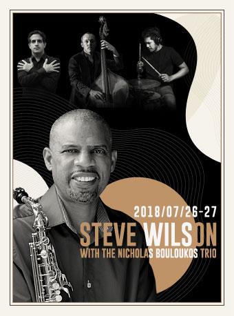 Blue Note Beijing STEVE WILSON WITH THE NICHOLAS BOULOUKOS TRIO