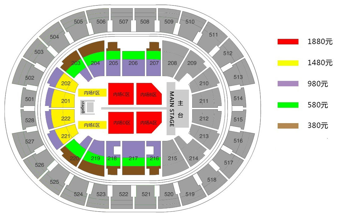 Michael bubl concert in shanghai for Seating chart mercedes benz stadium