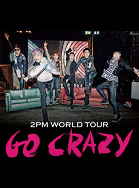 2PM WORLD TOUR GO CRAZY IN SHANGHAI