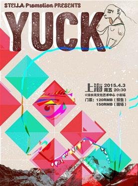 Yuck Concert in Shanghai